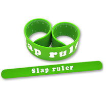 STARLING, silicone slap bands, custom silicone products